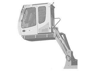 Articulacion cabina para LIEBHERR A902