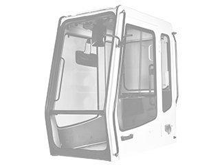 Estructura de cabina para TAKEUCHI TB175