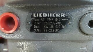 Motor hidraulico de rotacion para LIEBHERR A912LI